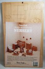 Dura-craft Miniature Dollhouse Nursery Furniture. Vintage 1990