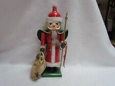 15 1/2 Inch Wooden Nutcracker with Toy Sack
