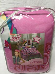 Jojo Siwa Comforter and Sheets 5pc Bedding Set, Pink, Multi , Full Size