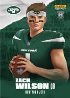 PS 2021 PANINI Instant NFL Draft Night Zach Wilson Rc Illustration Series Rookie