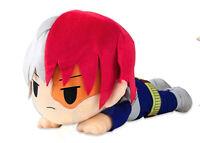 My Hero Academia Todoroki Shoto Plush Pillow Stuffed Doll Lying Toy Gift 40cm