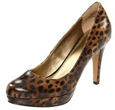 Circa Joan & David Women's Pearly Platform Pump Brown Multi Size 8 M