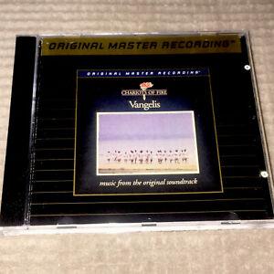 VANGELIS Chariots Of Fire O.S.T. 24 Karat Gold MFSL US CD UDCD 622 Case New