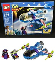 New LEGO 7593 Toy Story BUZZ'S STAR COMMAND SPACESHIP Pixar BUZZ ZURG Minifigure