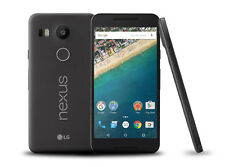 """LG Nexus 5X noir de carbone 5.2"""" Mémoire 16 Go Caméra 12MP Grade B Excellent Débloqué"""