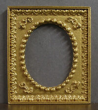 SMALL  OVAL  PICTURE  FRAME  ~  Dollhouse Miniature ~ 1:12 scale ~ Room Box