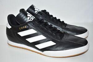 Adidas Copa Super Mens Trainers DB1881 Black White Leather UK 12 EU 47.5 US 12.5