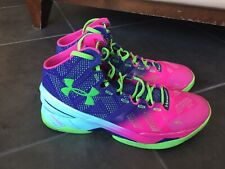 """1259007-478 Dell UA Hornets Under Armour Curry 2 /""""Father To Son/"""" CHOOSE SIZE"""