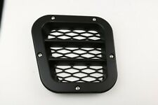 BLACK Sport Left Wing Side Intake Air Vent/Grille Trim Defender 200Tdi