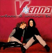 V*ENNA - Where I Wanna Be CD Christian Pop Duo 83061-0558-2 Essential Records