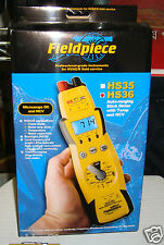 Fieldpiece HS36 True RMS Multimeter Expandable Designed for HVAC/R Service NEW