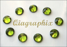 5x 1440 Pcs (50 gross) DMC Hotfix Crystal Rhinestones Olivine SS10, SS10E