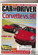 Car & Driver Dec 2004 - Covette - Porsche 911 - BMW M5 - Maserati GS - Acura RL
