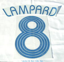 2006-07 Champions League Chelsea ' Lampard 8 ' Player Issue Shirt Nameset