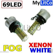 XENON LED FOG LIGHT LAMPS H8 - 20W FOGLIGHTS WHITE CANBUS NO ERROR BULB PGJ19-1