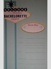 Welcome to a Fabulous Bachelorette Party Invitations w/ Envelopes
