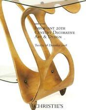 Christie's // Imp 20th C. Decorative Art & Design Auction Catalog 2008