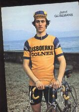JOZEF GIJSEMANS Cyclisme cp 70s IJSBOERKE COLNER Cycling ciclismo wielrennen