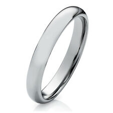 Verlobungsring Partnerring aus Wolfram 4mm mit Ringe Lasergravur W735E