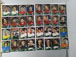 Panini Euro 2004 Football Sticker Bundle x32 Stickers-No Duplicates