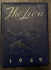 1949 The Lion /The Clint Ward School Year Book