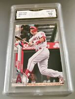 MIKE TROUT 2020 Topps #1 GMA Graded 10 Gem MT