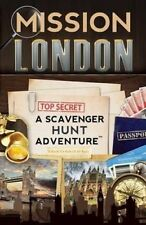 NEW Mission London: A Scavenger Hunt Adventure (Travel Book For Kids)