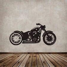 Wall Mural Sticker Decal Vinyl Decor  Biker Motorcycle club Garage Harley