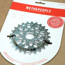 WE THE PEOPLE BMX PATHFINDER BICYCLE SPROCKET 25T CHROME PLATED PRIMO CULT FIT