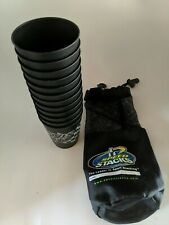 Speed Stacks Cups Official Stacking Black 12pc Lot With Carry Bag WSSA