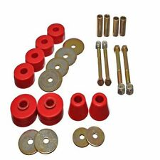ENERGY SUSPENSION 3.4137R 63-66 Chevy C10 Truck Body Poly Cab Mount Bushing Kit