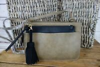NEW INC International Concepts Kayla 2 in 1 Crossbody Bag Olive Black $59 NWT