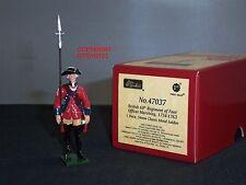Britains 47037 redcoats British 60 REGGIMENTO di afta Marching metallo giocattolo soldato