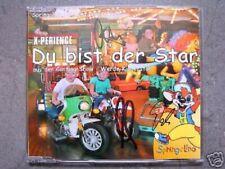 CD X-Perience Du bist der Star Werde Kinderstar Signiert Signed Maxi Synth-Pop