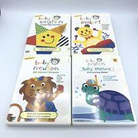 Disney Baby Einstein DVD Lot of 4 - Neptune Newton Mozart Language Nursery