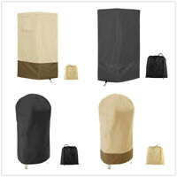 Smoker Covers Garden Patio Kettle BBQ Grill Cover Barbecue Round Waterproof