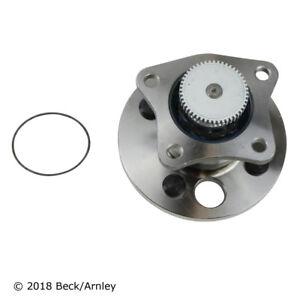 Wheel Bearing and Hub Assembly Rear Beck/Arnley 051-6096