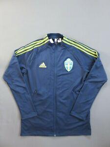 Men's Sweden National Team 2020 Anthem Jacket Adidas FH7631