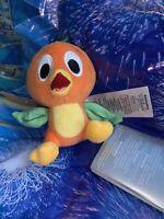 """2021 Disney Parks Orange Bird 5"""" Magnetic Shoulder Pal Plush New In Hand"""