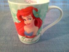 "Princess Ariel The Little Mermaid Disney Coffee Cup 4"" Tall"