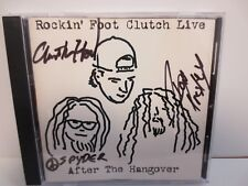 ROCKIN' FOOT CLUTCH LIVE ~ AFTER THE HANGOVER ~ PROMO ARTIST SIGNED ~ CD