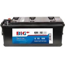 BIG LKW-Batterie 12V 135Ah 1000A Nutzfahrzeug 63552 Traktor Schlepper ers 110Ah