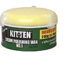 Kitten Cream Polishing Wax No.1 280G Best for New CARS TRUCKS CARAVAN Polish wax