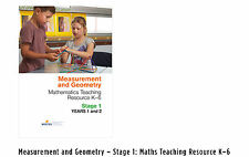 Measurement and Geometry – Stage 1: Maths Teaching Resource K–6