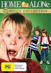 HOME ALONE 1 2 3 4 5 Movie Collection : NEW DVD