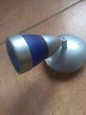 LAMPADA PARETE APPLIQUE MODERNO satinato  VINTAGE BAGNO SPECCHIO blu