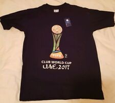 2017 FIFA CLUB WORLD CUP FINAL Official T-Shirt Real Madrid Gremio (Size Large)