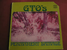 GTO's - Permanent Damage  Original 1969 Straight  Promo LP Frank Zappa