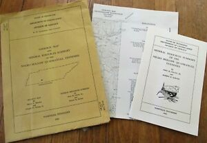 Geologic Map 1963 Tennessee/TN Negro Hollow Quadrangle/Mineral Resources Summary