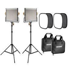 Neewer 2-Pack 480 LED Video Light Lighting Kit for Photo Studio Product Portrait